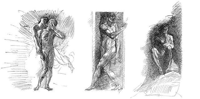 dessinsrodinfleursdumalbaudelaire (1)