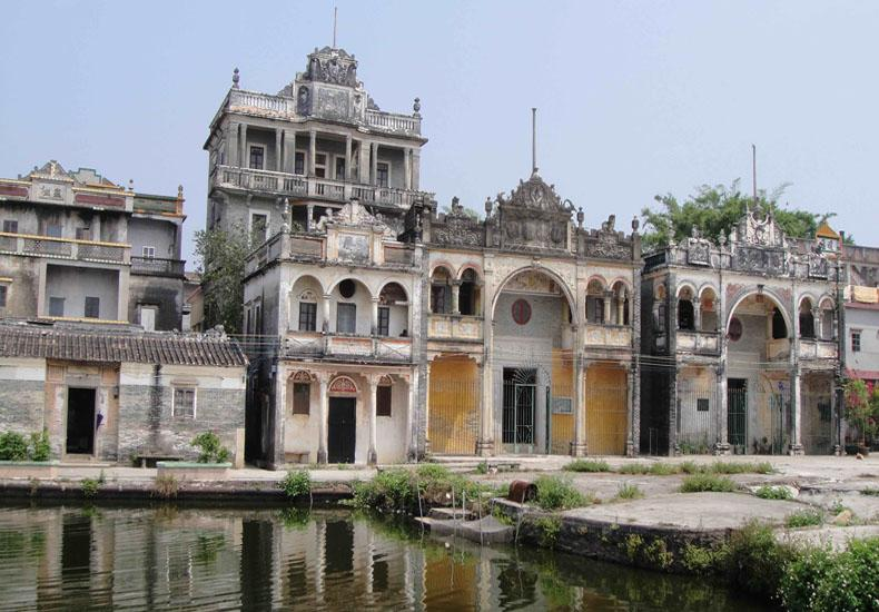 Kaiping in China is known as the place where most watchtowers are located in