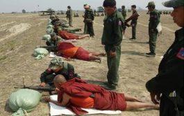 Βουδιστές μοναχοί εκπαιδεύονται στα όπλα στον πόλεμο κατά της μουσουλμανικής μειονότητας