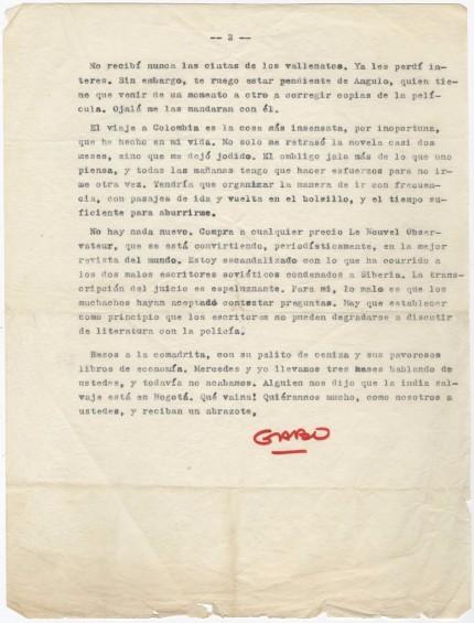 2h σελίδα επιστολής Μαρκέζ