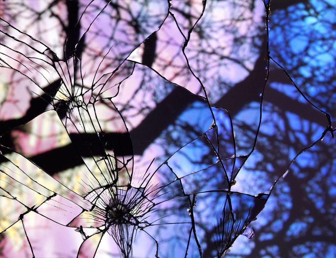 broken-mirror-evening-sky-photography-Bing wright-
