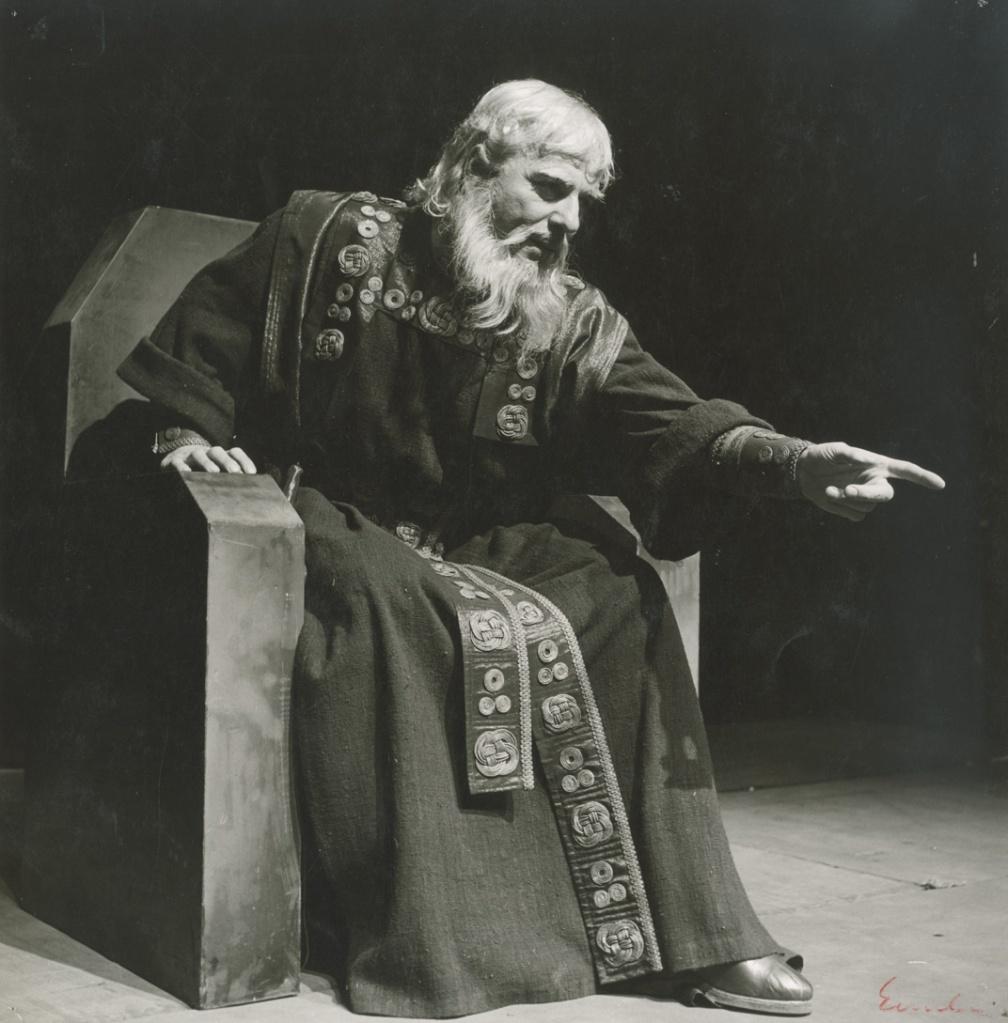 Αλέξης Μινωτής ως Βασιλιάς Ληρ