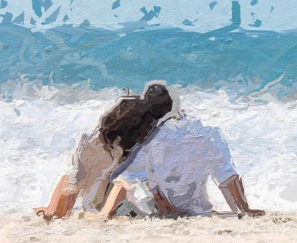 painting-of-loverspainting-of-love-imagespainting-of-love-and-lifepainting-of-love-couple-on-the-ladonya-pearson