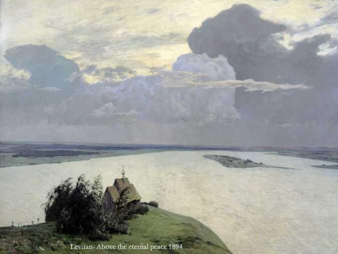 Λεβιτάν, πάνω από ενα απέραντο τοπίο