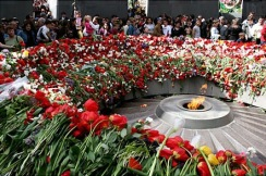 Tsitsernakaberd Genocide Memorial, Yerevan, Republic of Armenia