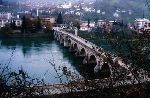 Mehmed Paša Sokolović Bridge in Višegrad (Bosnia and Herzegovina)2