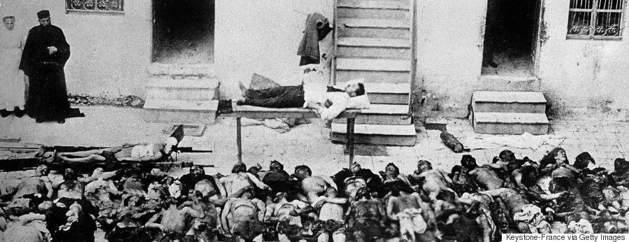 The Greek-Turkish War: Victims Of The Smyrne Massacre In 1922