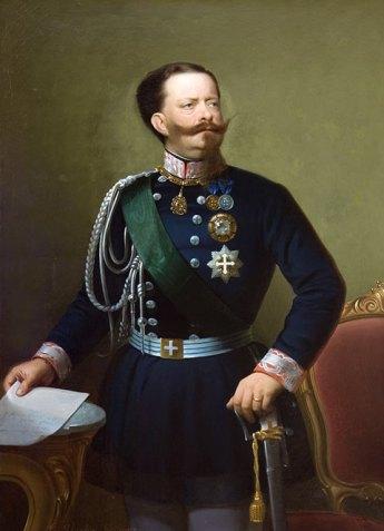 Victor Emmanuel II, βασιλιάς της Σαρδηνίας,πρώτος βασιλιάς ενοποιημένης Ιταλίας