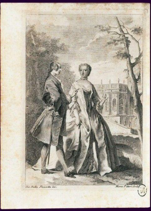 Voltaire et Gabrielle Émilie Le Tonnelier de Breteuil, marquise du Châtelet au château de Cirey, 1737 Francesco Algarotti