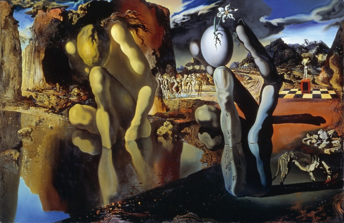 Salvador Dali 1937 Metamorphosis of Narcissus.jpg