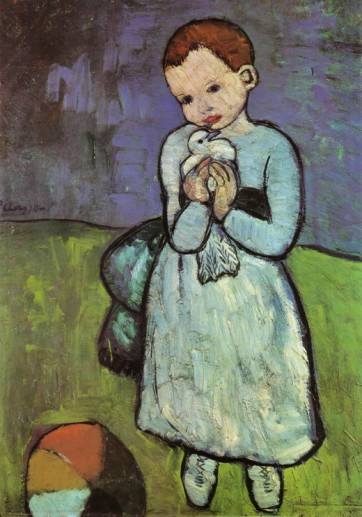 Picasso, μπλε περίοδος