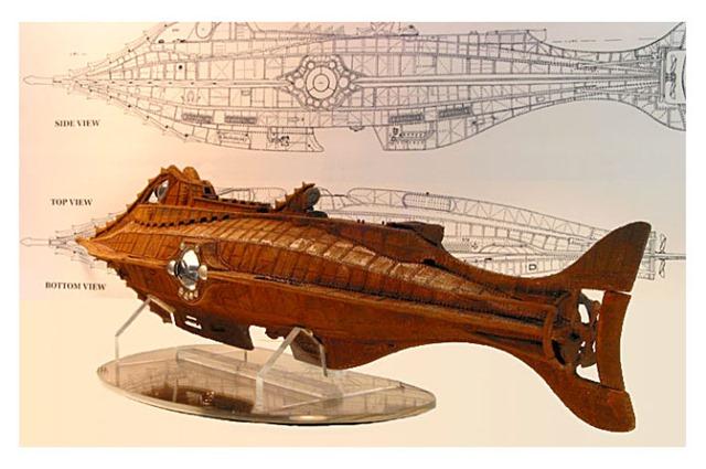 Jules-Verne-Nautilus-Submarine-to-1-72-scale