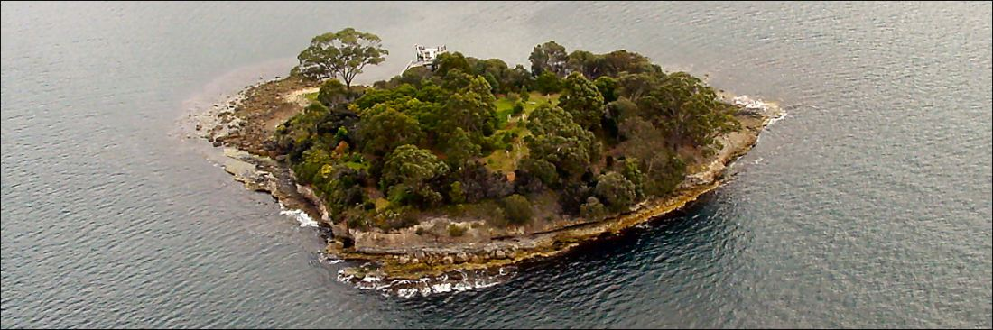 -isle-of-the-dead, Convicts were buried on the southern or lower half of the island. No tombstone or other mark were to be placed at the head of any convict graves,