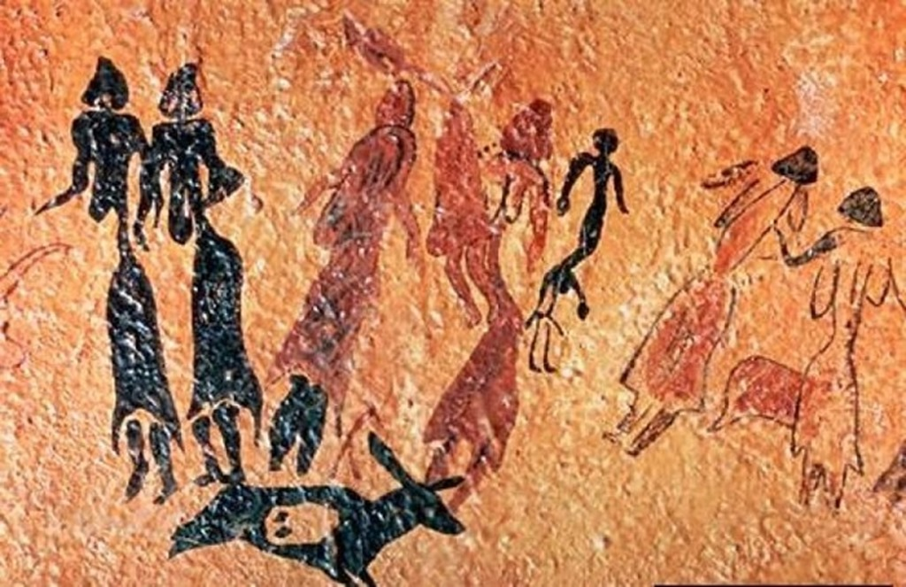 Prehistoric Cave Paintings - Altamira cave paintings.