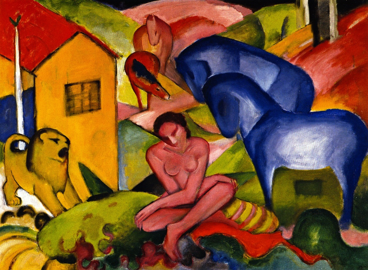 the dream paintings franz marc paintings