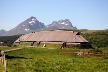Lofotr Viking Museum in Lofoten Islands