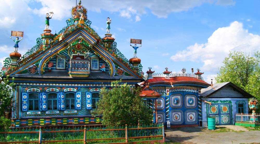 Χτίστηκε από τον Σεργκέι Ιβάνοβιτς Kirillov στο χωριό της περιοχής Κουνάρ Sverdlovsk - στα μέσα του περασμένου αιώνα.