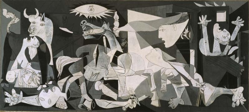 Pablo Picasso (Pablo Ruiz Picasso) Malaga, Spain, 1881 - Mougins, France, 1973, guernica