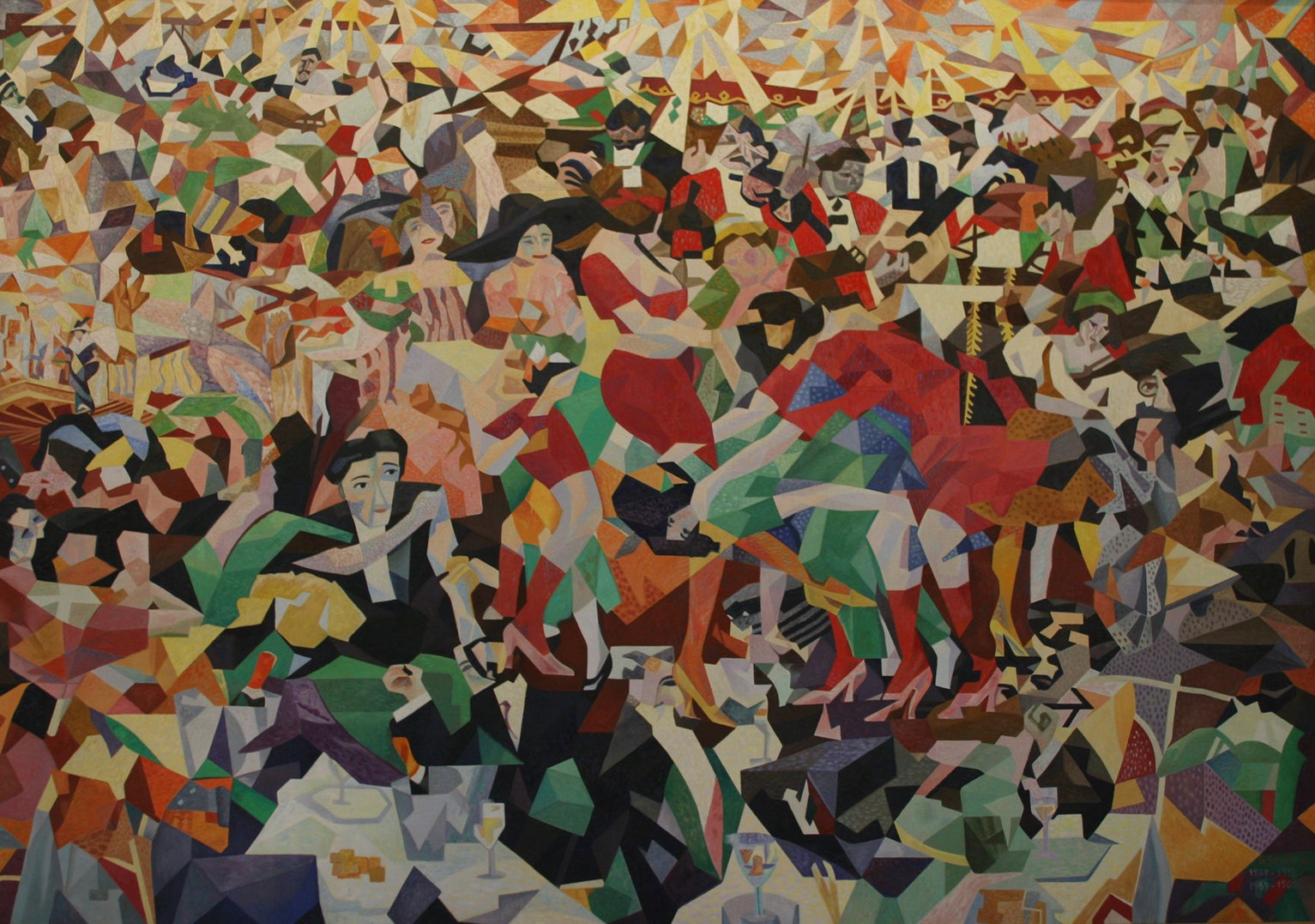 Gino Severini The Pan Pan at the Monico, 1959
