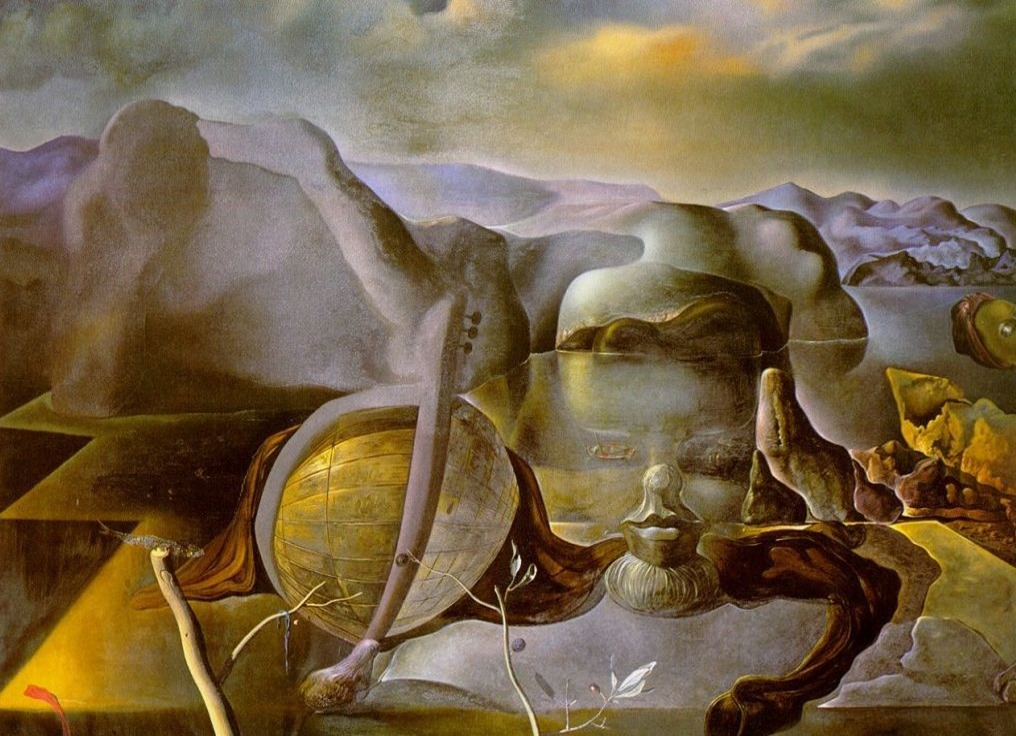 Sunday Dalí, The Endless Enigma, 1938.