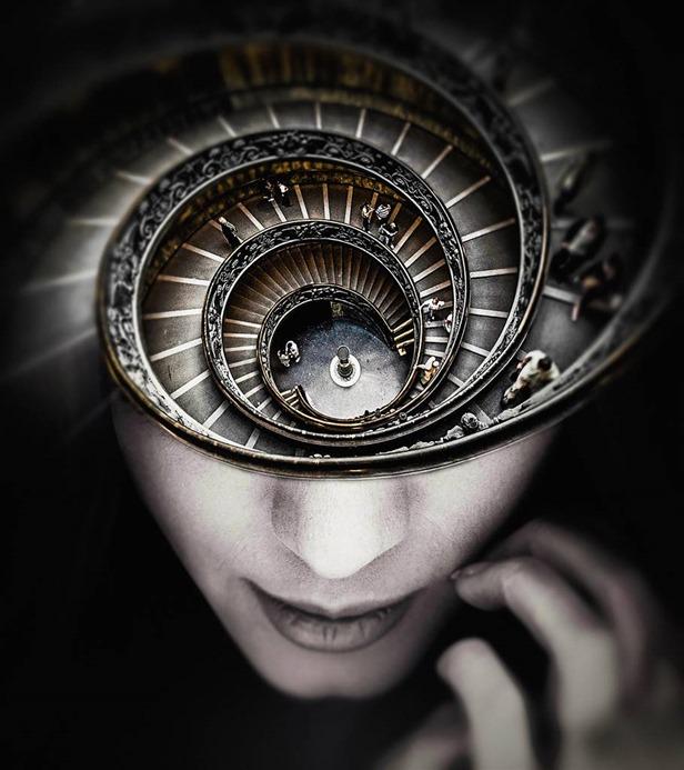 Cycle Thinking 1 by Mila Gerasimova, illumination10f