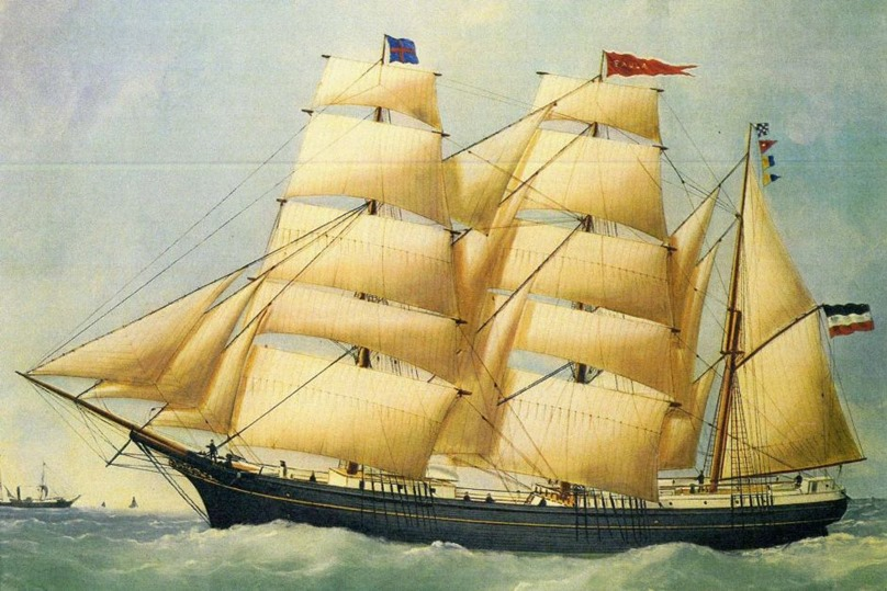 The message was dated June 12, 1886, and said it had been thrown overboard from the German sailing barque Paula, 950km from the WA coast.