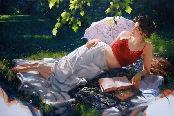 Γυναίκα που διαβάζει