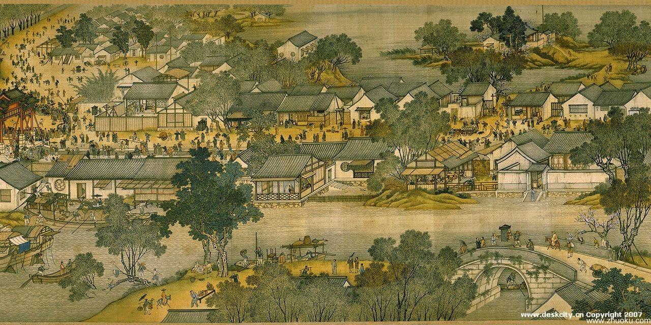 Βόρειας Δυναστεία των Σονγκ Kaifeng Bianjing,