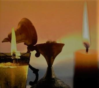 κερί,καντήλι, θυμιατό