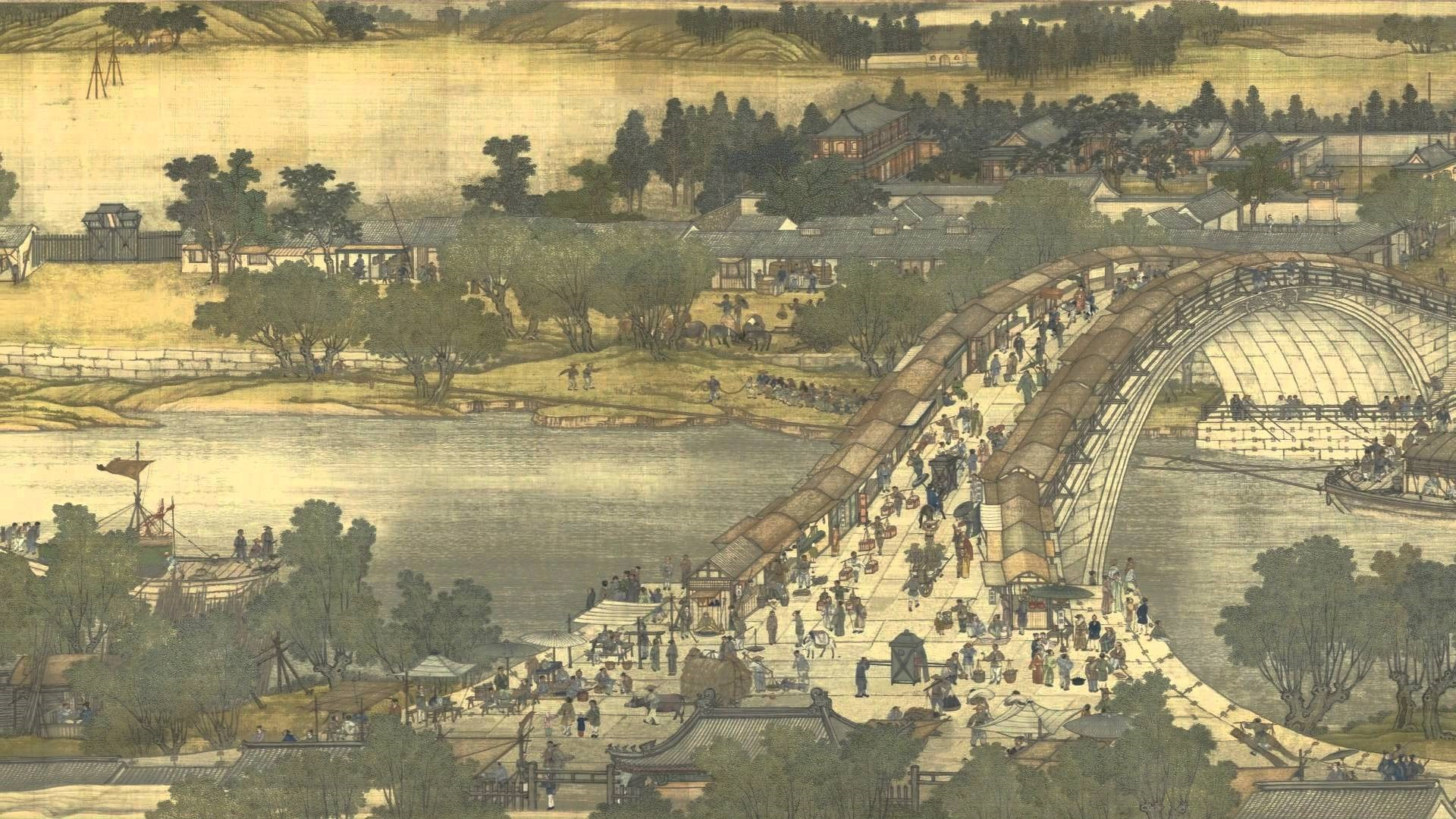 painting by the Song dynasty artist Zhang Zeduan (1085–1145)