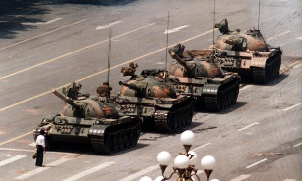 1. The Tiananmen Square Massacre, 1989