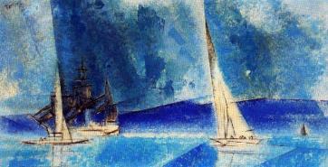 Lyonel-Feininger-Blue-Coast.