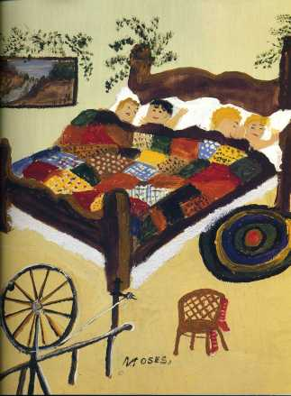 Waiting for Christmas — Grandma Moses
