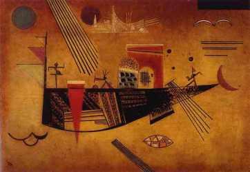 Wassily Kandinsky -Capricious-